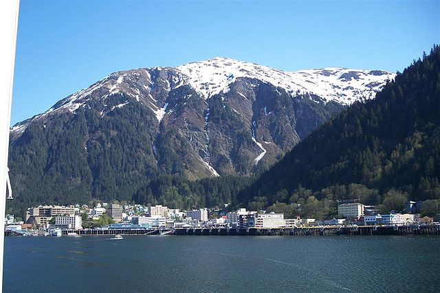 Downtown Juneau – Where I live with my family history