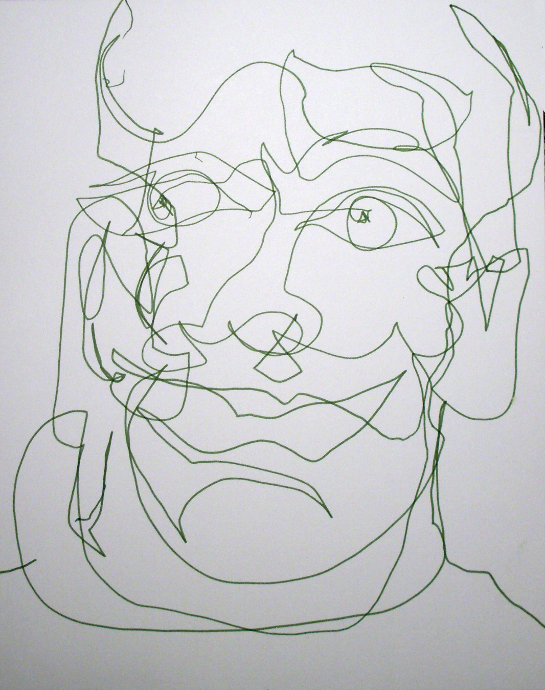Blind Line Drawing Artists : Blind contour drawing uas mat program cohort